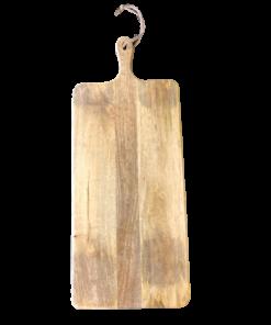 Langwerpige borrelplank